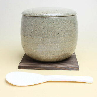 おひつ (ash glaze) 10P13Dec13 upup7 made by Iga firing, ceramics