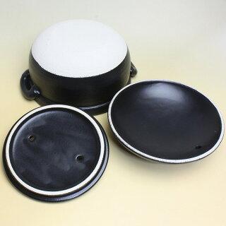 炊飯鍋ごはん鍋3合用二重蓋日本製ご飯鍋土鍋炊飯土鍋