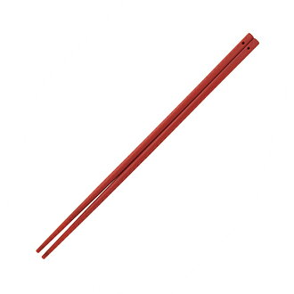 Chopsticks (red) made by silicon