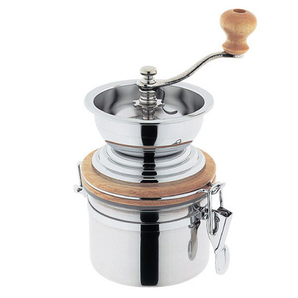 Stainless steel seal-type coffee mill