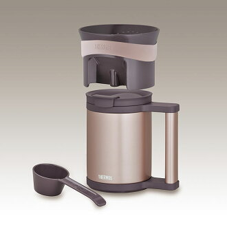 Mug of thermos a vacuum insulating keeping-warm office mug & Coffee dripper(Cacao)