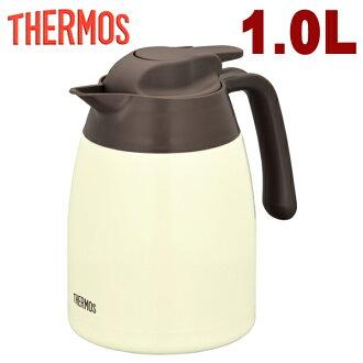 熱水瓶熱絕緣不銹鋼 1 L 明確不銹鋼 (手感-1000) 罐 / 瓶 / 保溫瓶 / 涼爽 / 暖和