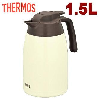 1.5 L 餅乾奶油壺熱水瓶熱水瓶手感 1501CCR 不銹鋼隔熱