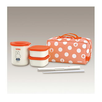 THERMOS Heat preservation lunch box Miffy・DBQ-251B