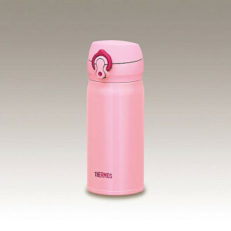 Thermos vacuum insulated jmy 350 ml JNL-352 CP coral pink flask stainless steel bottle thermos thermal insulated direct drink