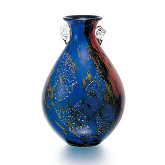Made in Japan-vase (towada) f-79823 Adelia / Ishizuka glass and glass products