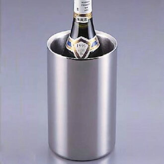 Two folds of stainless steel wine coolers (mirror type)