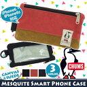 スマホケース CHUMS チャムス iphone6 6s iphone7 iphone8 iphoneケース カバー スマートフォンアクセサリー スマートフォンケース 携帯 スマートフォン Mesquite メスキート コンパクト 軽量 メンズ レディース スウェード CH60-2140