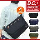【レビューを書いてクーポンGET】 人気の「B.C.+Ishutal」の新作ショルダーバッグ!