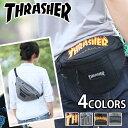 【レビューを書いてクーポンGET】 「THRASHER」からプリントロゴがお洒落な2wayバッグ登場!