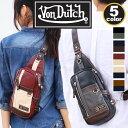 ボディバッグ Von Dutch ボンダッチ ヴォンダッチ ボディ バッグ ボディーバッグ ワンショルダー コンパクト コリンズ メンズ レディース 通学 通勤 旅行 VD212 vondutch-023