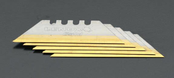 レノックス(LENOX)ユーティリティーナイフ用GOLDブレード【5枚】〔TC20350-GOLD5C〕TC20350GOLD5C,GOLD5C