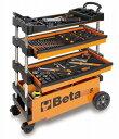 【送料無料】Beta(ベータ)フォールディングツールトロリー(工具箱 ツールケース キャビネット)〔C27S〕C27S