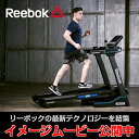 [再入荷しました!]Reebok(リーボック)家庭用トレッドミル(ランニングマシン/ルームランナー)JET300