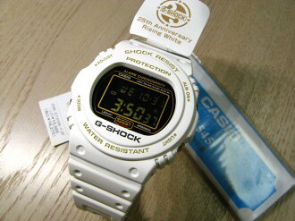 G-shock DW-5725B-7JF (25th anniversary rising white)