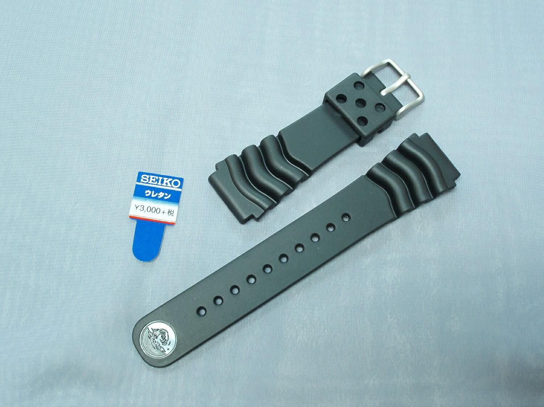 SEIKO純正ダイバー用時計ベルトウレタン 22...の商品画像