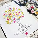 ウェディングツリー ゲストブック 結婚証明書 ウェルカムボード natural time (ナチュラルタイム)