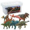 【ポイント10倍】【あす楽】玩具 恐竜 フィギュア ティラノサウルス トリケラトプス ギフト 誕生日プレゼント DINOSAUR SOFTMODEL 恐竜 ダイナソーソフトモデルセットA FDW-101