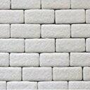 RoomClip商品情報 - 【ポイント10倍】【送料無料】【あす楽】レンガ ブロック タイル 壁紙 外壁 かるかるブリック100枚セット ホワイト