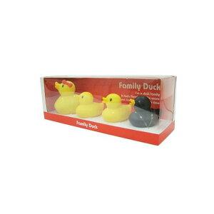 お風呂でプカプカあひるの親子 Family Duck ファミリーダック(4羽セット) HB-2633 お風呂で遊べるアヒル4羽セット☆