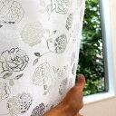【ポイント10倍】のれん 暖簾 ロゼ ローズ(バラ柄) 幅85cm×丈150cm/彫刻のような美しいシルエット。