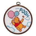 7161 オリムパス ししゅうキット フープ 空飛ぶプーさん Winnie the Pooh