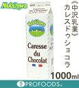 《中沢乳業》カレス・ドゥ・ショコラ【1000ml】