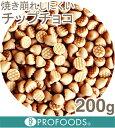 キャラメルチップチョコ【200g】