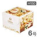 《和気》デコ箱 ホーリースノー6号(H150)【1枚】