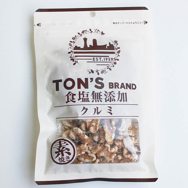 《東洋ナッツ》食塩無添加クルミ【90g】