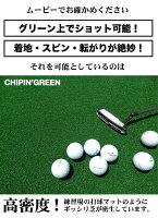 アプローチ&パット専用人工芝CHIPIN'GREEN(チップイングリーン)90cm×5m【パターマット工房オリジナルの高品質ゴルフ専用人工芝】
