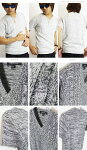 Vネック半袖サマーニット《Vネック半袖サマーニットメンズTシャツケーブル編ニット男女兼用》メンズTシャツフィッシャーマン綿麻綿麻ケーブル編みケーブルニットセーター杢ざっくりニットドルマンストレッチゴルフウェアペアサマーProgreプログレ
