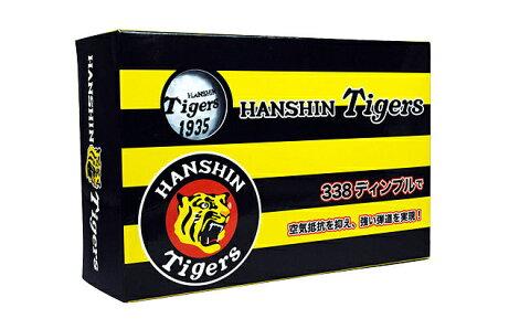 ゴルフボール6個入り 阪神タイガース オフィシャル ゴルフ グッズ 日本正規品