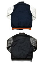 BE@RBRICKDESTROYERJACKET(NAVY/BLACK)
