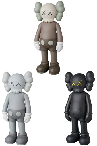 KAWS COMPANION OPEN EDITION BROWN/GREY/BLACK