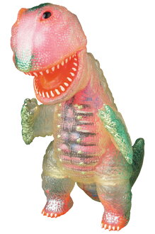 Clear Gogamezilla (with pink GID guts) 【Planned to be shipped in late February 2016】