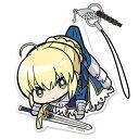 【ネコポス/DM便対応】コスパ Fate/EXTELLA LINK Fate/EXTELLA LINK アルトリア ペンドラゴン アクリルつままれストラップ