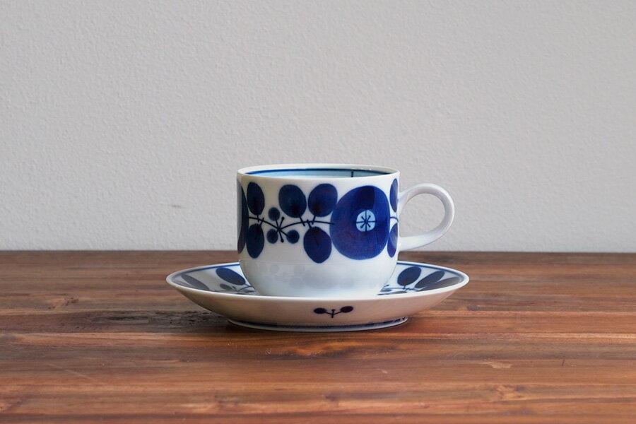 【取扱終了1015】白山陶器 BLOOM コーヒーカップ&ソーサー / HAKUSAN ※