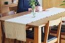 リネンテイルズ ストライプコレクション テーブルランナー ホ...