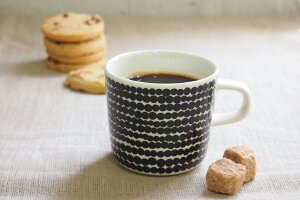 マリメッコ コーヒー ラシィマット ブラック