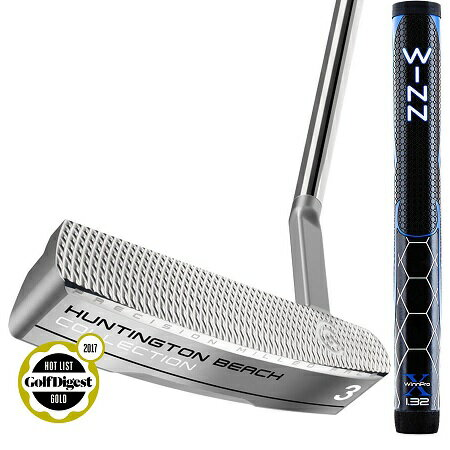Cleveland Golf Huntington Beach 3 Putter WinnPro X Grip クリーブランド ハンティントン ビーチ #3 パター ウィンプロ グリップモデル 2017年 Newモデル!Huntington Beach 3 Putter