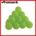【軟式野球】【PROMARK 練習ボール】【室内でも使用できます】プロマーク バッティング上達練習球