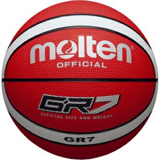熔融莫滕 GR7 7 籃球 GR7-RW (球俱樂部籃球隊) (籃子球籃球籃球運動球) 02P03Dec16