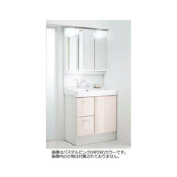 INAX LIXIL 洗面化粧台×ミラーキャビネットセット オフト 間口750mm FTVH-755SY1-W/VP1W MFTV1-753TXJU ホワイト