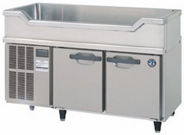 ホシザキ 舟形シンク付横型冷蔵庫 RW-120SDC (標準仕様=左側モーター)W1200・D750・H800(mm) [新品][送料無料&メーカー1年保証付][ヨコ型][冷蔵庫]