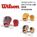 Wilson(ウィルソン) 女子ソフトボール用グラブ ウイルソン クイーン 投手用 右投げ用 WTASQP58B