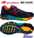 【送料無料】newbalance(ニューバランス)MR1040R ブラックレインボー(B) Width(靴幅)D/EE/4E/G長距離、ランニング、ジョギング、ウォーキング【smtb-kd】