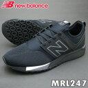 ニューバランス スニーカー MRL247 ブラック BR 靴幅:D クラシックライフスタイル【ラッキーシール対応】