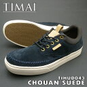 TIMAI ティマイ TIHUD043 CHOUAN SUEDE ネイビー 日本向け正規品 処分価格PSsale