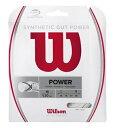 樂天商城 - [テニス・バドミントン専門店プロショップヤマノ] WILSON ウィルソン  テニスガットシンセティック・ガット・パワー16 SYNTHETIC GUT POWER 16 WRZ945100
